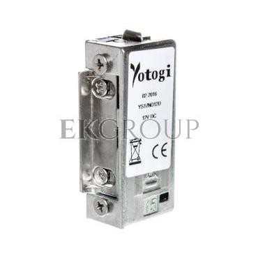 Elektrozaczep NO 12V DC symetryczny, rewersyjny, wbudowana dioda YS17NO12D-218691