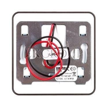 Oprawa LED TETI NT 12V DC CZN biała zimna 17-141-61 LED11714161-201771