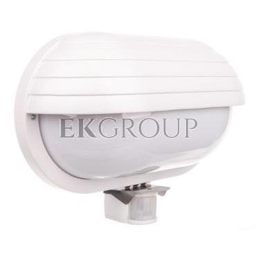 Oprawa kanałowa z czujnikiem ruchu biała 230V AC 60W E27 OS-KACROO-00-203094