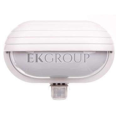 Oprawa kanałowa z czujnikiem ruchu biała 230V AC 60W E27 OS-KACROO-00-203095