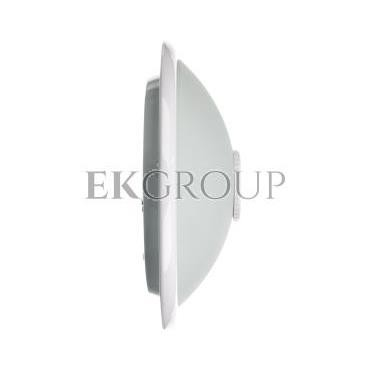 Plafoniera VIZELA z czujnikiem ruchu KORPUS biały klosz szklany półprzeźroczysty 230V AC max. 2x40W OS-PLCRKZ-00-206346