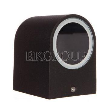 Oprawa ścienna jednokierunkowa TIAGO GU10 max. 35W IP54 AC 220-240V 50/60Hz czarna LD-TIAGOGU10J-20-204132