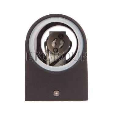 Oprawa ścienna dwukierunkowa TIAGO GU10 max. 2x35W IP54 AC 220-240V 50/60Hz czarna LD-TIAGOGU10D-20-204135