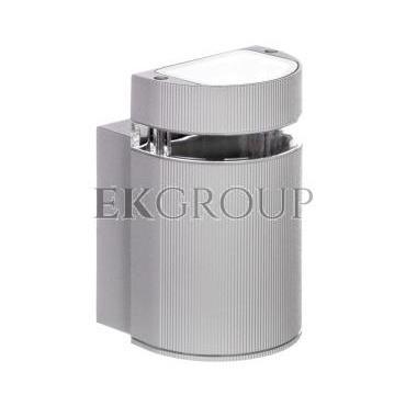 Oprawa ścienna jednokierunkowa SILVA GU10 max. 50W IP54 AC 220-240V 50/60Hz szara LD-SILVAGU10J-80-204138