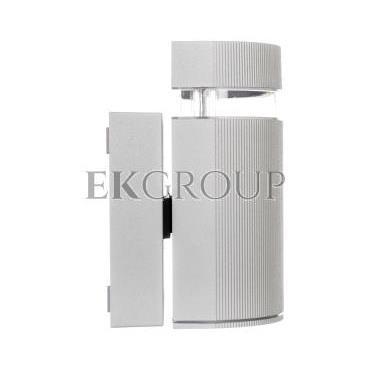 Oprawa ścienna jednokierunkowa SILVA GU10 max. 50W IP54 AC 220-240V 50/60Hz szara LD-SILVAGU10J-80-204139