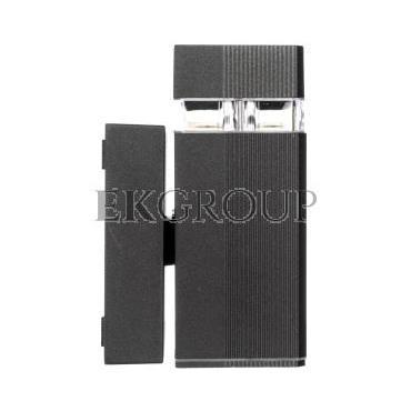 Oprawa ścienna jednokierunkowa NESSA GU10 max. 50W IP54 AC 220-240V 50/60Hz czarna LD-NESSAGU10J-20-204146