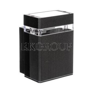 Oprawa ścienna jednokierunkowa NESSA GU10 max. 50W IP54 AC 220-240V 50/60Hz czarna LD-NESSAGU10J-20-204147