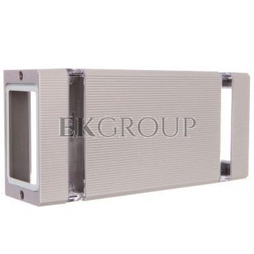 Oprawa ścienna dwukierunkowa NESSA GU10 max. 50W IP54 AC 220-240V 50/60Hz szara LD-NESSAGU10D-80-204151