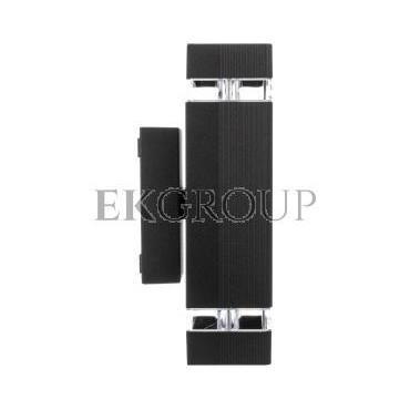 Oprawa ścienna dwukierunkowa nessa GU10 max. 50W IP54 220-240V AC czarna LD-NESSAGU10D-20-204170