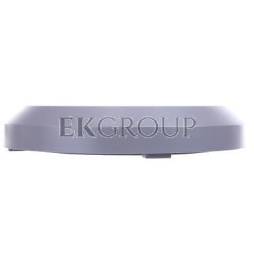 Oprawa schodowa LED SILVER OW 3W 200lm 220-240V AC 120 stopni IP65 okrągła, mleczna osłonka, ciepły biały, szara LD-OSSLOW3W-80-
