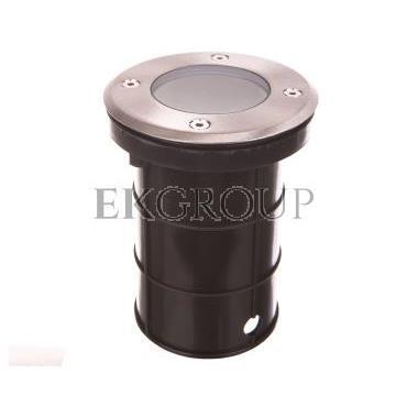 Oprawa najazdowa ALFA-O GU10 220-240V AC inox ON-ALFAOGU10-06-204570