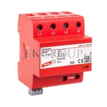 Ogranicznik przepięć B C 4P 12,5kA/50kA 1,5kV DEHNshield TNS 255 FM 941405-216620