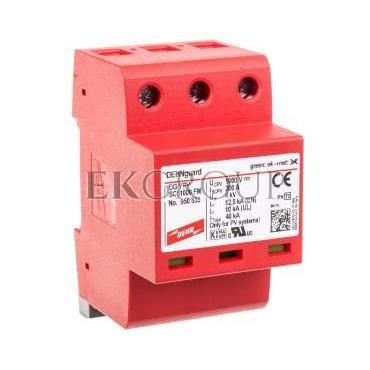 Ogranicznik przepięć C Typ 2 PV 1000V DC 3P 12,5kA 4kV DEHNguard compact YPV SCI 1000 FM 950535-216332