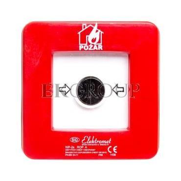 Ręczny ostrzegacz pożarowy NO-NO IP65 WP-2s ROP A 921402-216979