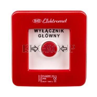 Wyłącznik alarmowy samoczynny natynkowy WG-1s IP-55 921440-216960