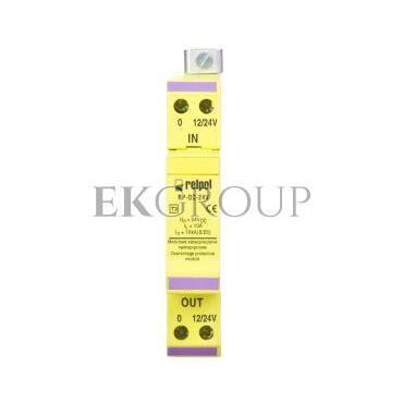 Ogranicznik przepięć linii sygnałowej 24V DC 10kA RP-DC 24V 2612926-216391