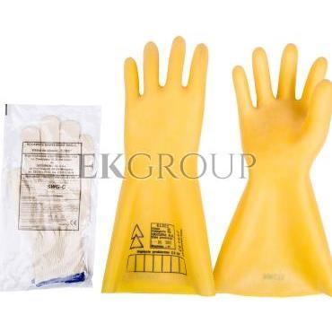 Rękawice elektroizolacyjne ELSEC 2,5 KV rozmiar 11 E06NR-03280100101-217366