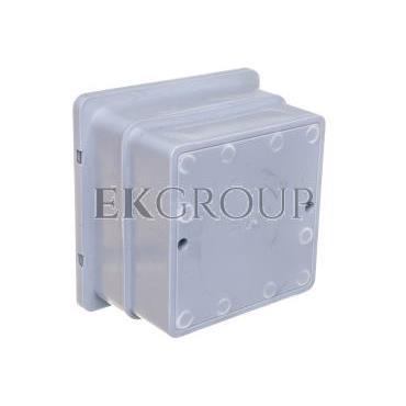 Skrzynka kontrolna do elewacji 140x140x100mm MAX szara 68.2/SZARA PL /96801208/-216309