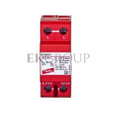 Ogranicznik przepięć B Typ 1 1P 50kA 4kV DEHNbloc 1 255 H 900222-216473