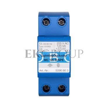 Ogranicznik przepięć B 1P 125kA 2,5kV MC125-B/NPE 5096863-216506