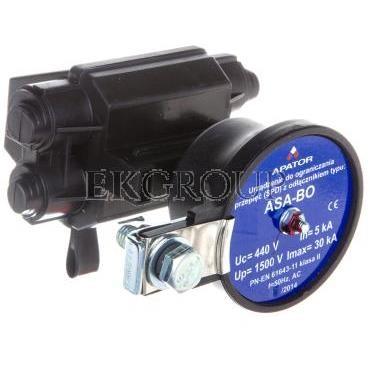 Ogranicznik przepięć A 440V 5kA ASA 440-5BO E1 K /z odłącznikiem/ 63-930219-021-216353