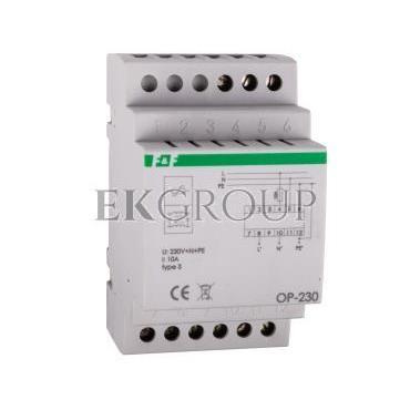 Ogranicznik przepięć D z potrójnym filtrem przeciwzakłóceniowym 2P 1kV OP-230-216830