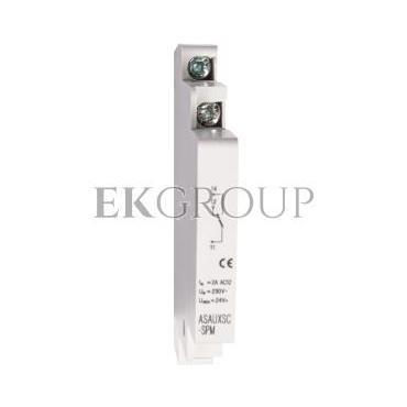 Styk pomocniczy 1Z 1R montaż boczny ASAUXSC-SPM 131785-217046