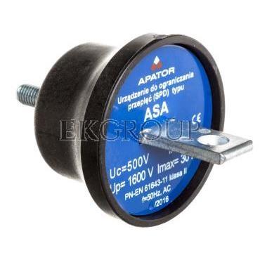 Ogranicznik przepięć A 500V 5kA ASA 500-5B 63-930100-131-216355