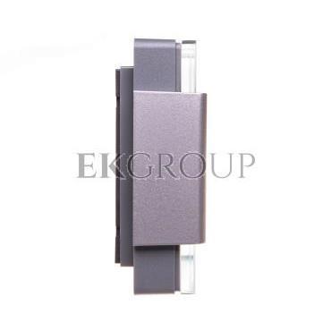 Gong dwutonowy GLASSO 230V srebrny GNS-248-SRB SUN10000116-215737