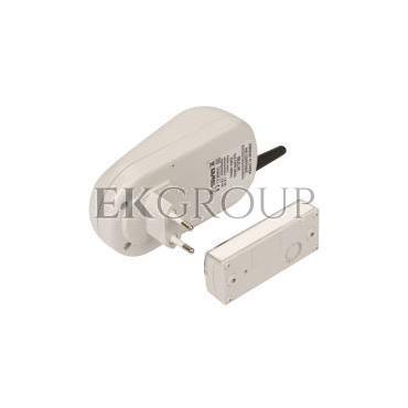 Dzwonek bezprzewodowy BULIK 230V zestaw hermetyczny zasięg 100m DRS-982K SUN10000008-215565