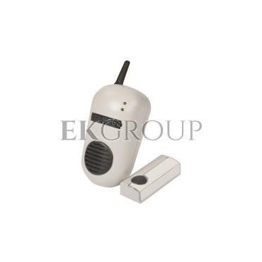 Dzwonek bezprzewodowy BULIK 230V zestaw hermetyczny zasięg 100m DRS-982K SUN10000008-215566