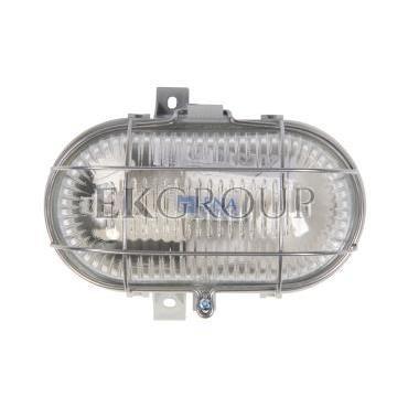 Oprawa kanałowa 1x60W E27 IIkl. 230V IP44 OVAL 60 SIMETAL 120176-203008
