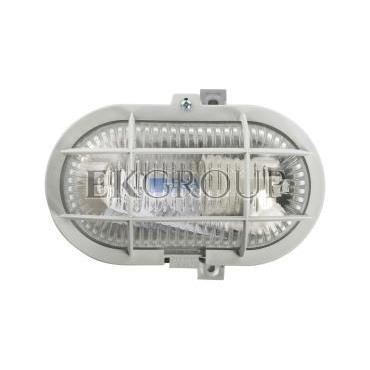 Oprawa kanałowa 1x60W E27 IIkl. 230V IP44 OVAL 60 102011-203010