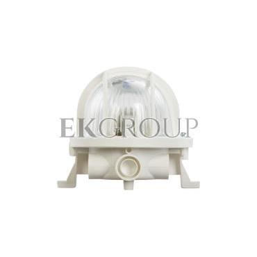 Oprawa kanałowa 1x60W E27 IIkl. 230V IP44 OVAL 60 302015-203014