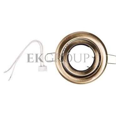 Oprawa punktowa 1x50W GU5,3 12V IP20 ARGUS CT-2115-BR/M matowy mosiądz 00330-204629