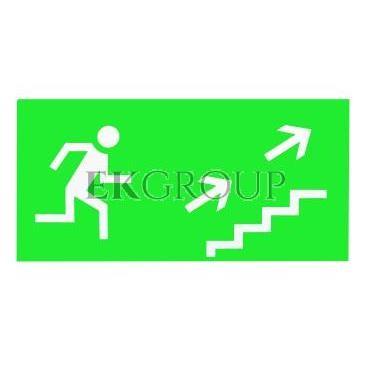 Piktogram 125x250 'schodami na prawo w górę' PS10-205762