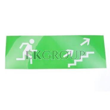 Piktogram 100x300 'schodami w prawo na górę' PM10-205763