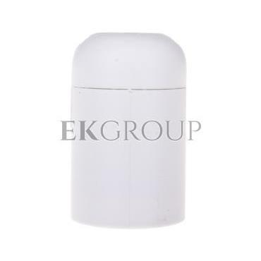 Oprawka izolacyjna FOBOS E14 z płaszczem gładkim biała OTE14-03/0/T-200586