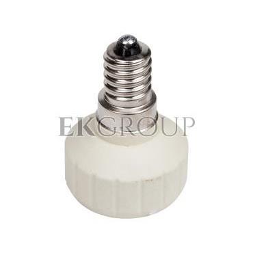 Przejściówka E14 na GU10 ceramiczna HLDR-E14/GU10 08851-200562