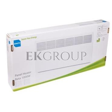 Grzejnik BETA 1000W 853x 389x 85mm IP21 EPHBM10P-216899