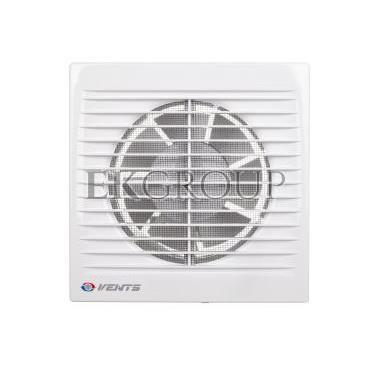 Wentylator domowy fi 125 230V 16W 180m3/h 35dB ścienny z wyłącznikiem czasowym (STYL WC) 125ST-218076