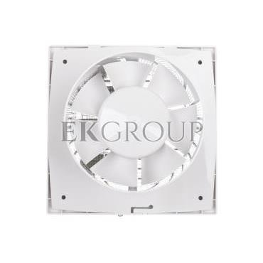 Wentylator domowy fi 125 230V 16W 180m3/h 35dB ścienny z wyłącznikiem czasowym (STYL WC) 125ST-218077