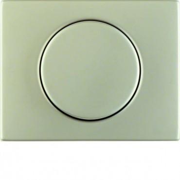 K.5 Element centralny z pokrętłem regulacyjnym do ściemniacza obrotowego stal szlachetna nierdzewna 11357004