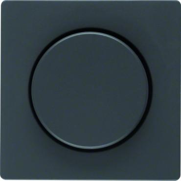 Płytka czołowa z pokrętłem reg. do ściemniacza obrotowego Q.1/Q.3 antracyt 11376086