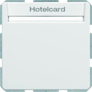 Q.1/Q.3 Łącznik przekaźnikowy na kartę hotelową biały aksamit 16406099
