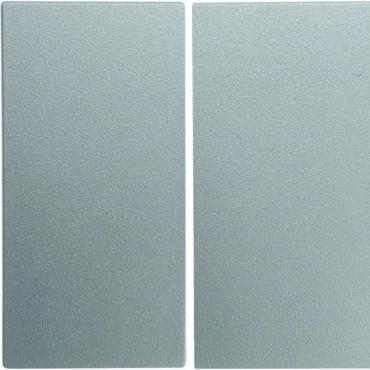 Berker B.1/B.3/B.7 Glas Klawisz podwójny srebrny 16231404