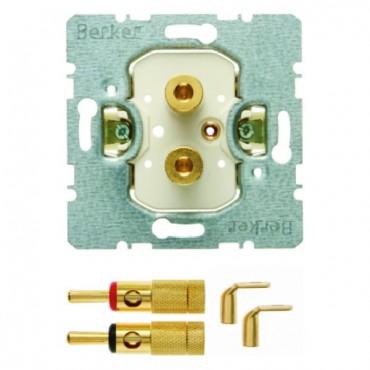 Gniazdo głośnikowe High End mechanizm 450502