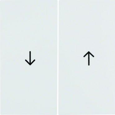 B.Kwadrat Klawisz podwójny symbol /strzałka/ biały 5316258999