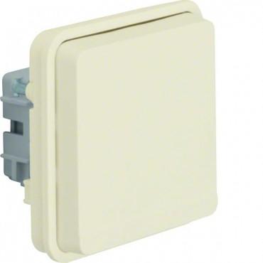 Berker W.1 Gniazdo pojedyncze z/u moduł IP55 biały 6768803512
