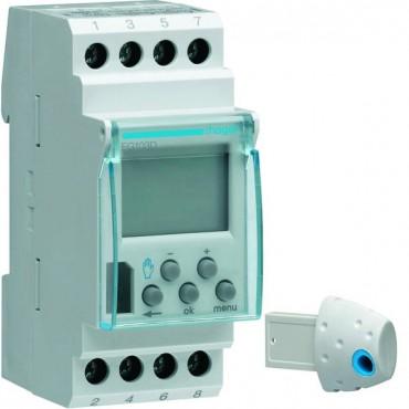Zegar sterujący cyforwy 16A tygodniowy jednokanałowy synchronizacja DCF77 230V EG103D
